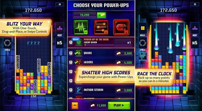 Tetris Blitz - Sự cải tiến bắt mắt, đặc sắc của thể loại xếp hình kinh điển 2