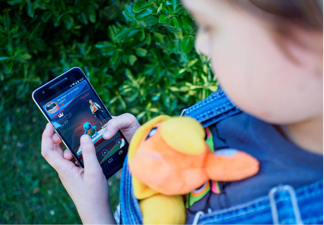 Pokemon GO - Dịch vụ xe ôm