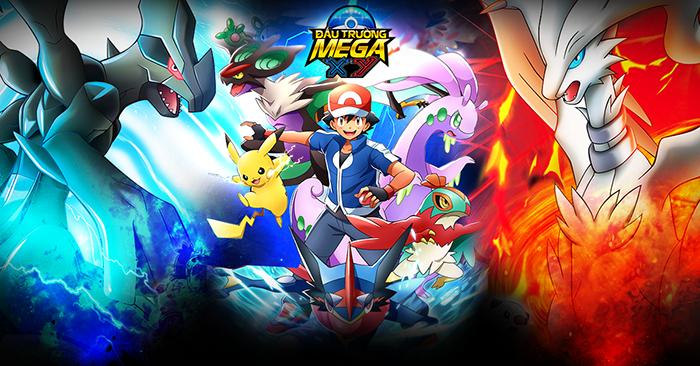 Đấu trường Mega XY - Thêm một game chủ đề Pokemon cập bến Việt Nam