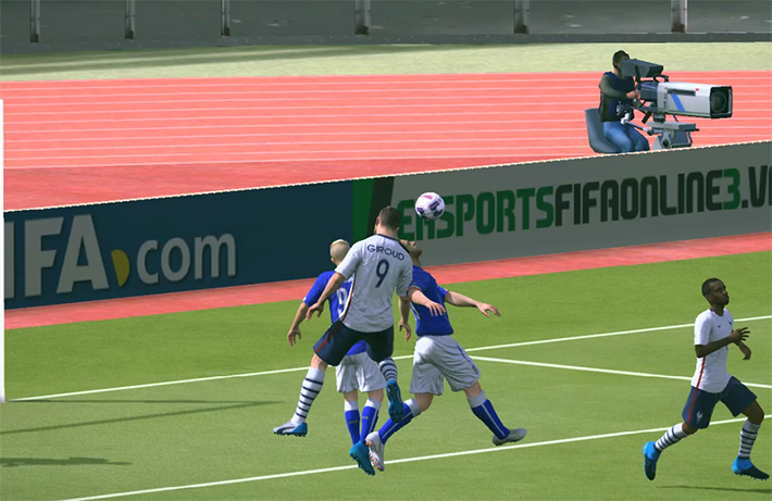 Tận dụng quả phạt góc để phản công nhanh trong Fifa Online 3