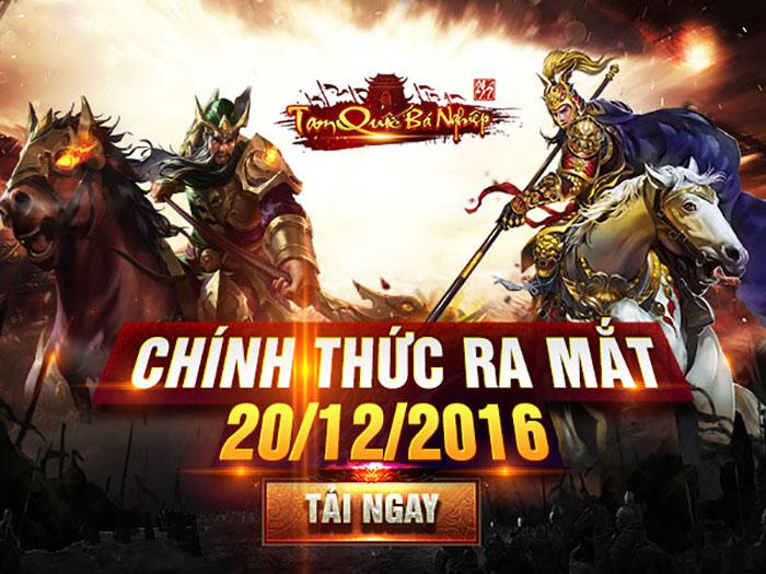 XemGame tặng 300 giftcode game Tam Quốc Bá Nghiệp trị giá 1 triệu đồng