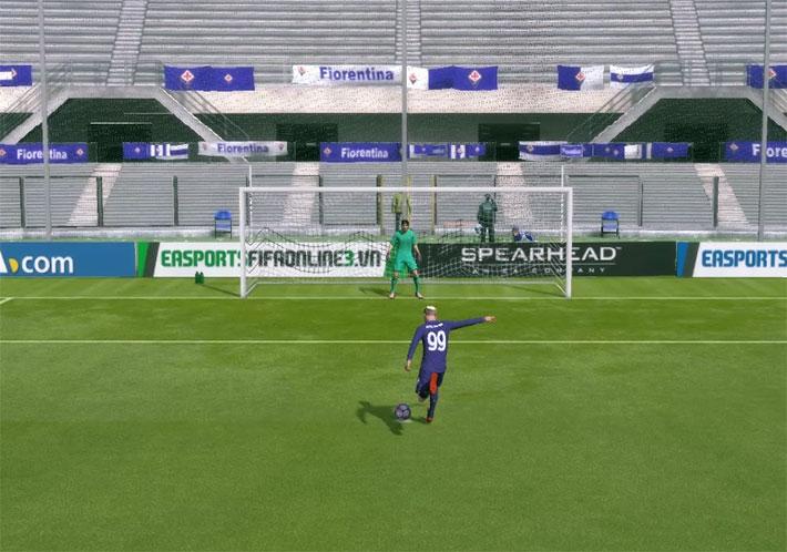 Hướng dẫn sút Panenka trong Fifa Online 3