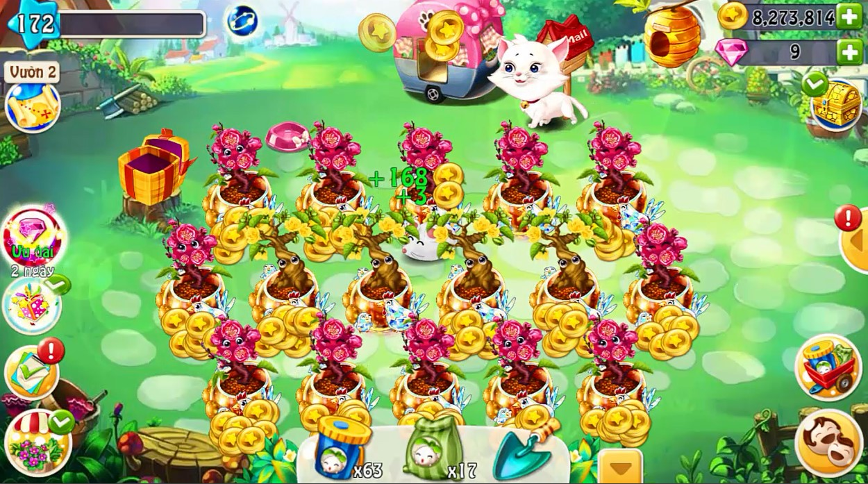 XemGame tặng 300 giftcode game Nông Trại Vui Vẻ trị giá 1 triệu đồng