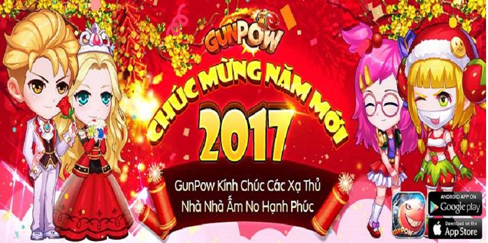 Khai xuân 2017 với loạt tính năng độc nhất vô nhị của GunPow