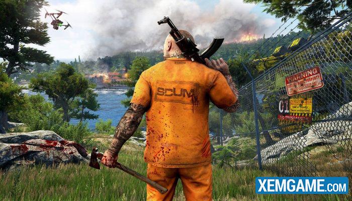 Scum - game thế giới mở mới cho phép bạn thành ... tù nhân trốn trại