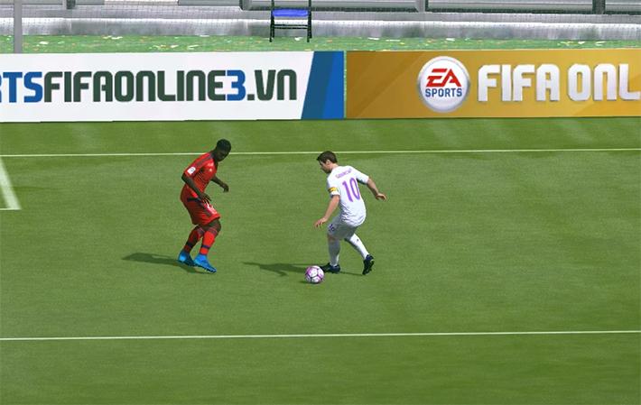 Fifa Online 3: Hướng dẫn liên hoàn skill với phím C