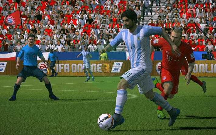 Fifa Online 3: Hướng dẫn skill qua người bằng cách đẩy bóng dài