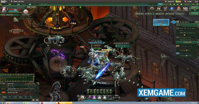 TOP 5 chiến trường khốc liệt nhất trong webgame Nhất Thống Giang Hồ
