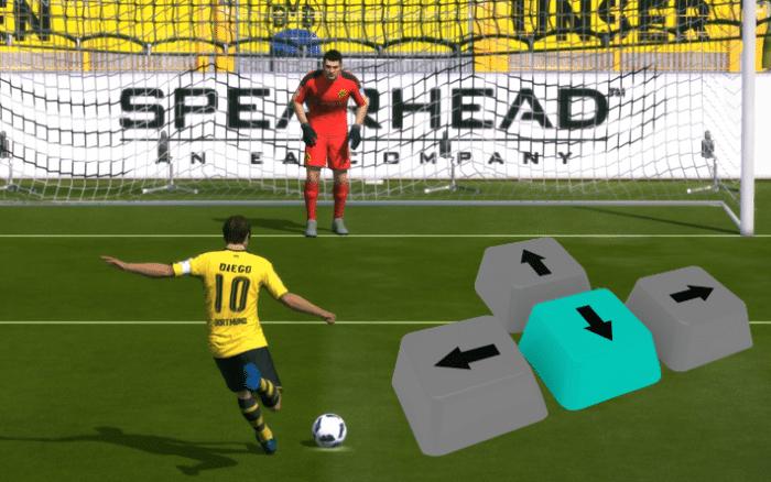Fifa Online 3: Hướng dẫn đổi hướng bóng khi sút Penalty cực đơn giản mà hiệu quả