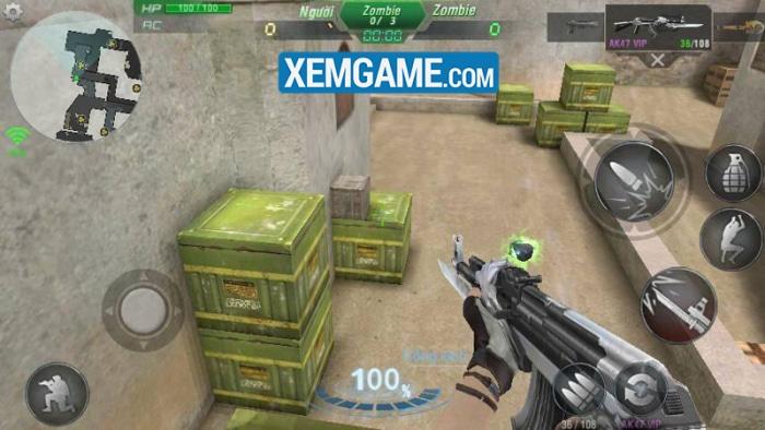Truy Kích Mobile trở thành bến đỗ lý tưởng của các game thủ lão làng FPS