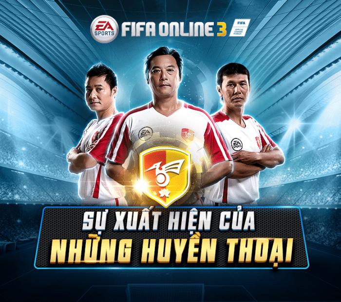 Fifa Online 3: Bộ ba Vietnam Legend được làm lại trong bản cập nhật tháng 4