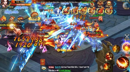Kiếm Vương Chi Mộng dẫn dắt game thủ vào một thế giới kiếm hiệp lung linh