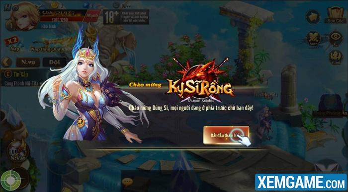 Kỵ Sĩ Rồng Mobile | XEMGAME.COM