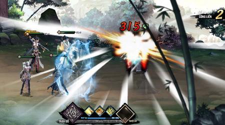 Webgame Lục Mạch Thần Kiếm mang đến một phương thức thể hiện mới lạ cho dòng game nhập vai đánh theo lượt