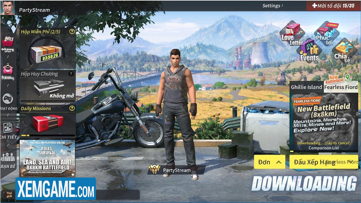 Rules Of Survival PC | XEMGAME.COM
