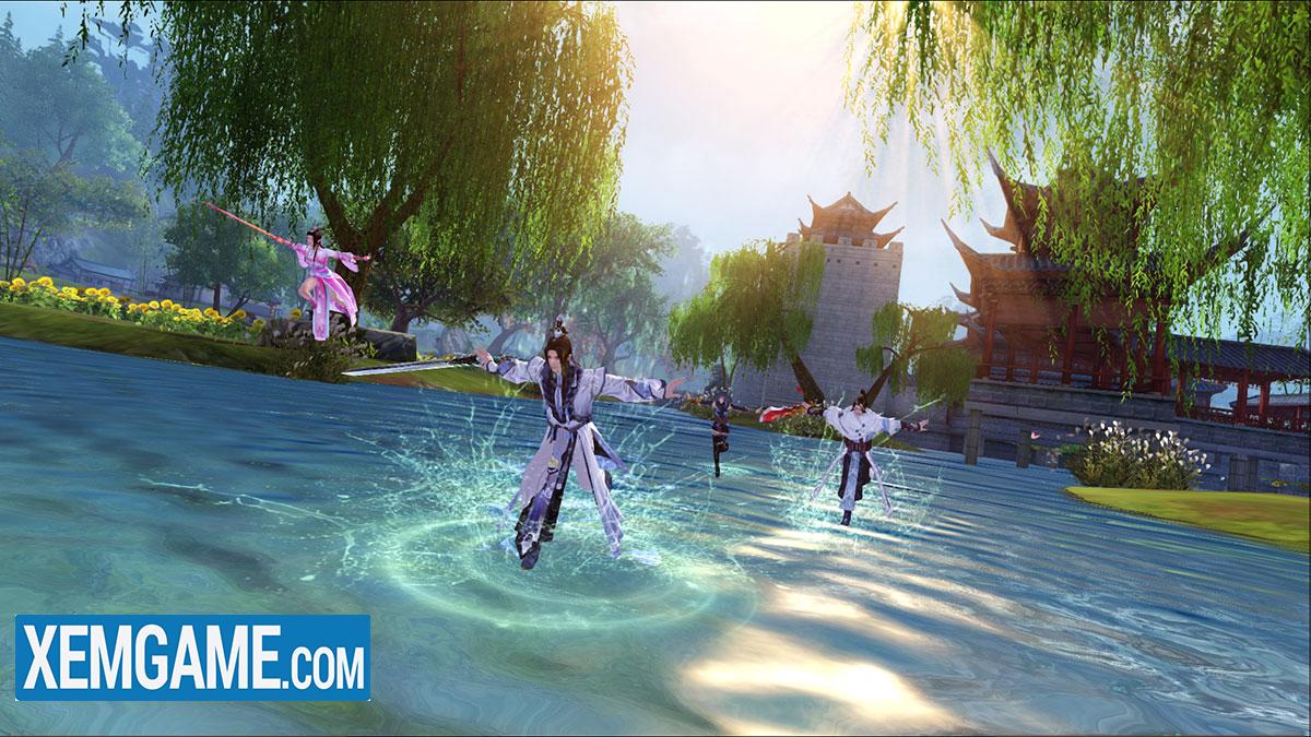 Game Cửu Âm mở ra một hành trình khám phá thế giới võ học Kim Dung thật đặc biệt