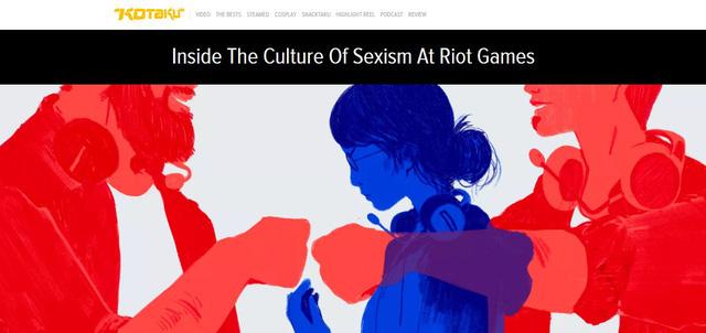 Không thể giấu diếm, Riot Games thừa nhận hành vi kỳ thị giới tính và xâm hại nhân viên nữ trong công ty