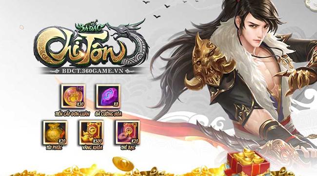 Xemgame tặng 500 giftcode game Bá Đao Chí Tôn mừng ngày ra mắt