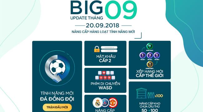 Cận cảnh bản Big Update của Fifa Online 4 trong tháng 9 này