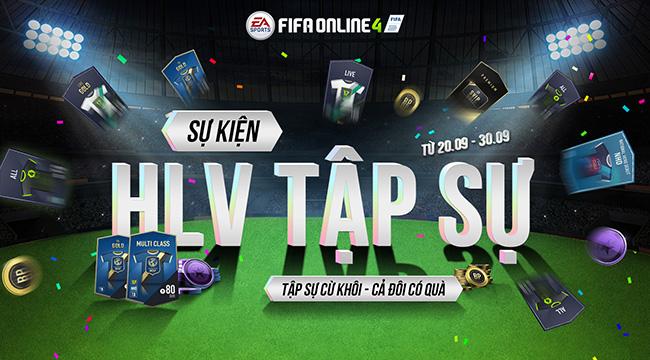 Cộng đồng Fifa Online 4 háo hức đi tìm HLV Tập Sự