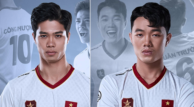 Quang hải, Công Phượng, Xuân Trường đồng loạt lộ áo đấu mới có Fifa Online 4