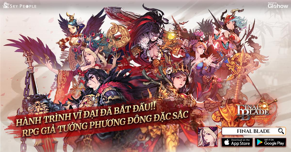 Final Blade chính thức ra mắt, hỗ trợ cả ngôn ngữ tiếng Việt