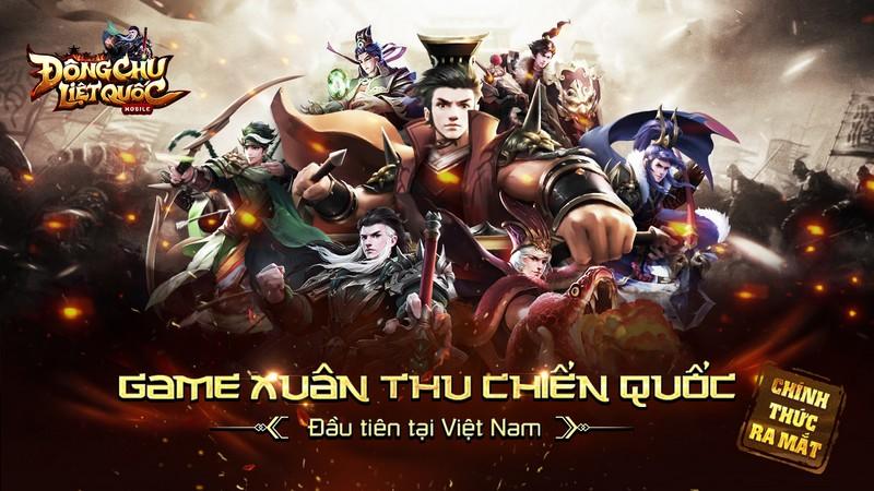 Xemgame tặng 300 giftcode game Đông Chu Liệt Quốc Mobile nhân dịp ra mắt