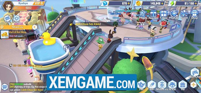 GunPow 3D sở hữu dàn tính năng nổi bật so với các game cùng thể loại