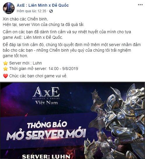 Ấn tượng mà AxE Việt Nam để lại trong lòng game thủ Việt sau 3 ngày ra mắt 7