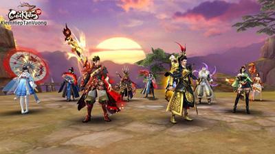Cửu Kiếm 3D là game MMORPG duy nhất cho chơi 9 phái trên cùng tài khoản