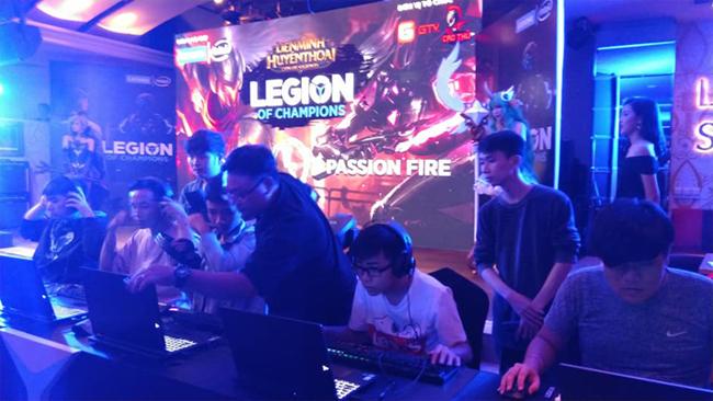Giải đấu Legion of Champions do Lenovo tổ chức thu hút sự quan tâm của rất nhiều game thủ