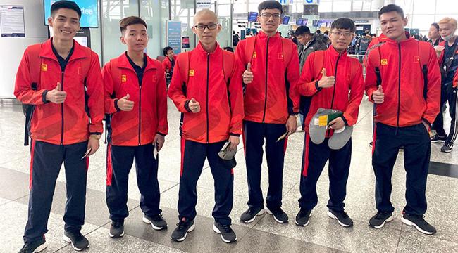 SEA Games 30 – Những hình ảnh đầu tiên của đội tuyển Mobile Legends: Bang Bang VN