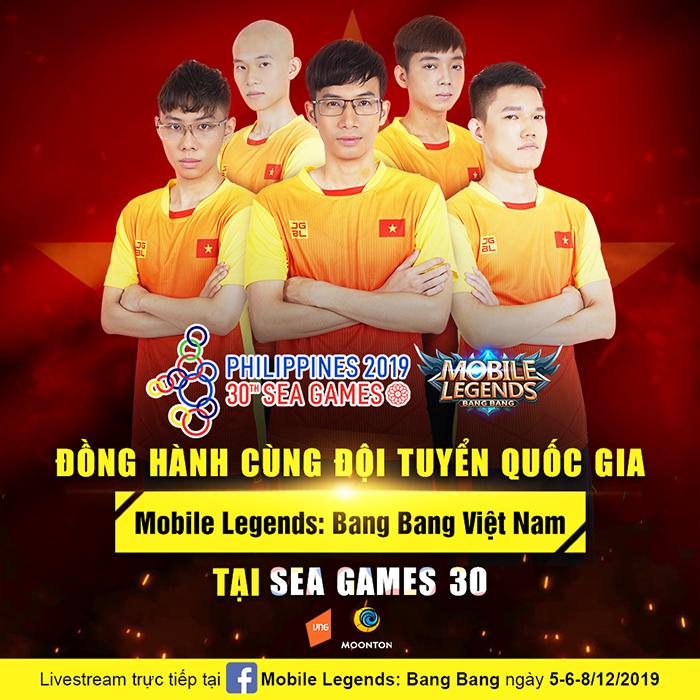 SEA Games 30 – cơ hội để Mobile Legends: Bang Bang Việt Nam khẳng định bản thân với đấu trường thể thao khu vực và quốc tế
