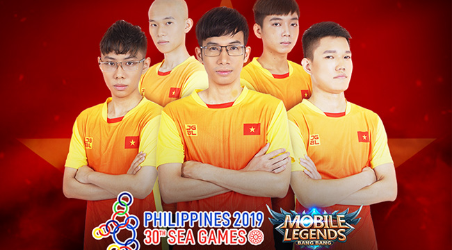 SEA Games 30: Ngày 5/12 – Đội tuyển Mobile Legends: Bang Bang Việt Nam thi đấu