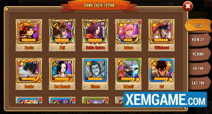 Nhẫn Giả Haki | XEMGAME.COM