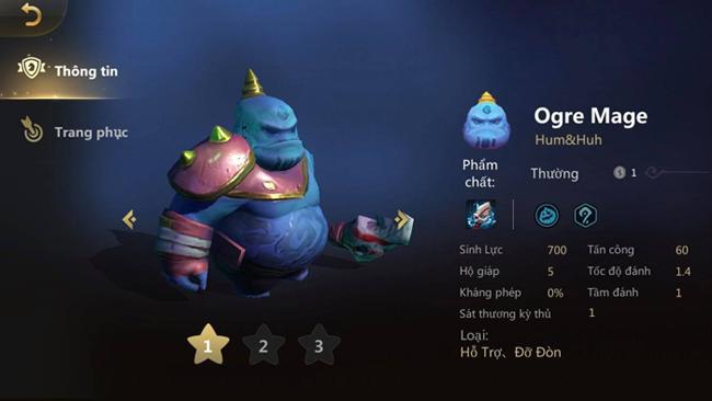 Auto Chess : Sau khi làm lại kỹ năng, Ogre Mage thích hợp cho kiểu đội hình nào?