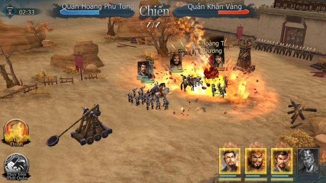 Tân Tam Quốc Chí Mobile cho bạn cơ hội cầm quân trị quốc trong thời loạn lạc
