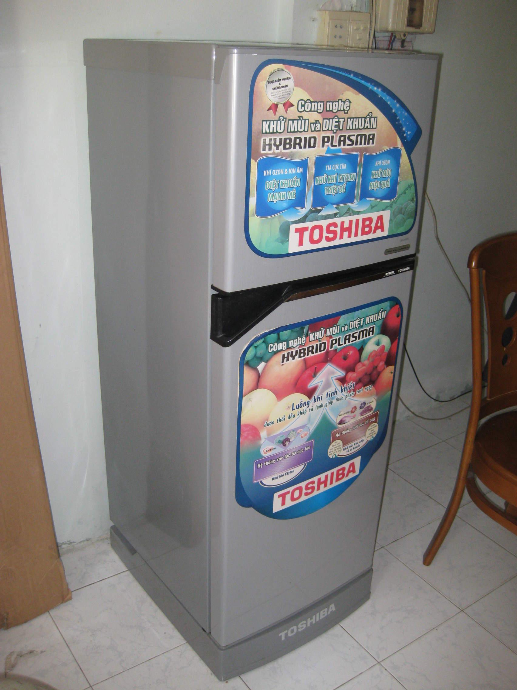 Tủ lạnh Toshiba Hybrid Plasma GR-A16VPD - 3.200.000đ | Nhật tảo