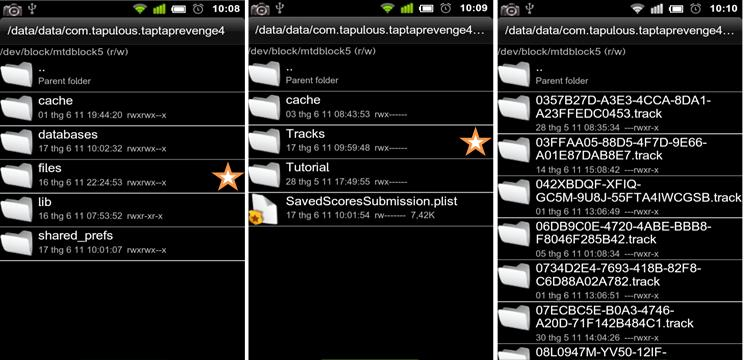 OFFICIAL Premium Songs on Tap Tap Revenge 4 (Android version) Attachment