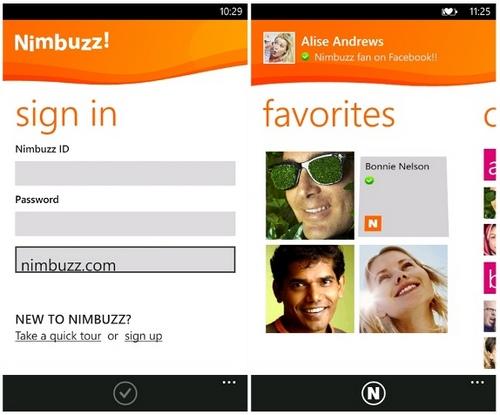 Nokia sẽ đưa 10 ứng dụng hàng đầu trên Symbian sang Windows Phone, Nimbuzz đầu tiên