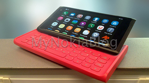 Rò rỉ hình ảnh chiếc Nokia Lauta với bàn phím trượt ngang chạy Meego