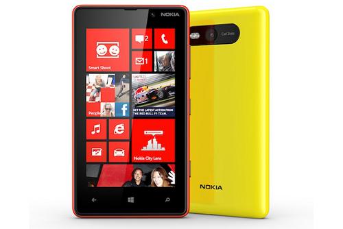 """Nokia ra mắt Lumia 820, 4,3"""", hỗ trợ thẻ nhớ, NFC và Qi"""