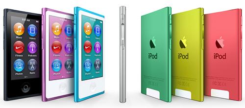 Apple nâng cấp iPod Nano: màn hình cảm ứng 2,5″, mỏng hơn, làm mới iTunes