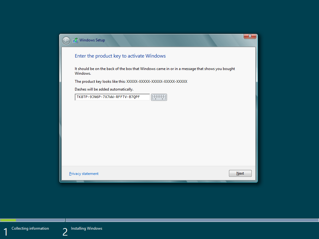 cài đặt windows 8 03.
