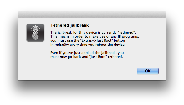 11- Tethered Jailbreak.