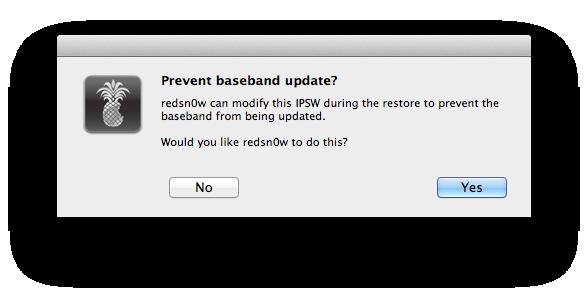 L7- Prevent baseband update.