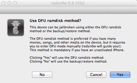8 - DFU RamDisk.