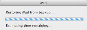9.1- Restoring backup.