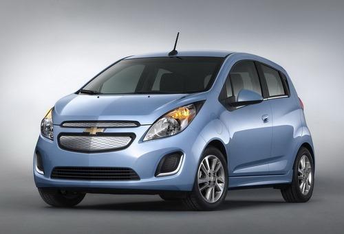 Chevrolet рассказала о новом электромбиле Spark.