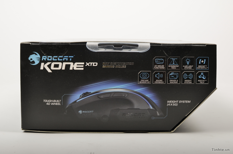 Chuột ROCCAT Kone XTD & Pure: cầm nhẹ, 8200 DPI 838097